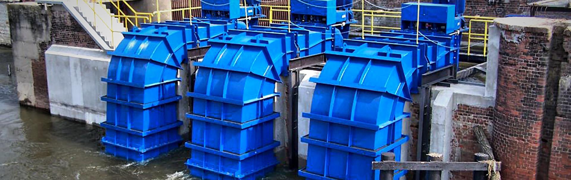 Adaptacja budowli hydrotechnicznych dla potrzeb zmontowania turbin lewarowych przy modernizacji MEW Oława II